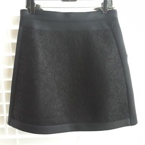 Missoni Mini Lace Scuba Skirt